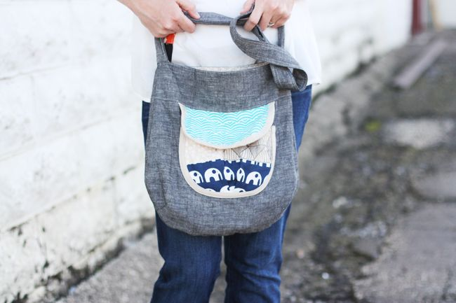 Sidekick Tote Pattern by Anna Graham!