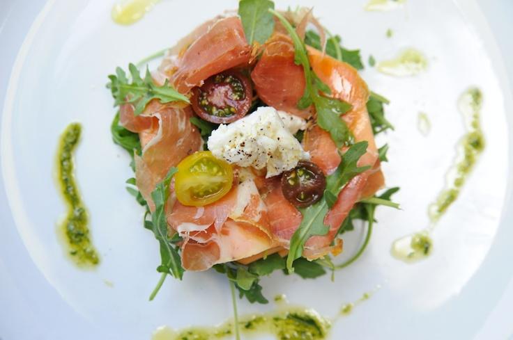 Melon & Prosciutto Burrata Salad | Foodie: Salads & Dressings | Pinte...