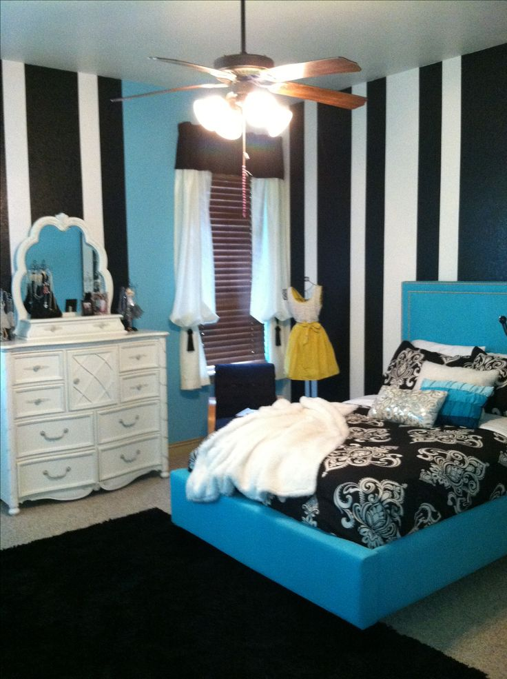 Teenage girls room posh glam preteen bedrooms pinterest for Posh bedroom designs
