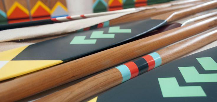 Haliburton Forest Paddle Shop: Custom Wooden Canoe Kayaking