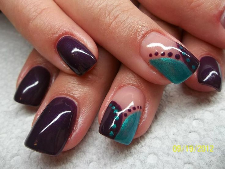 gel nail color designs nails my style pinterest