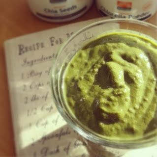 herbalgreeninfinitea: Recept: Groene Smoothie 'Super Spinach'