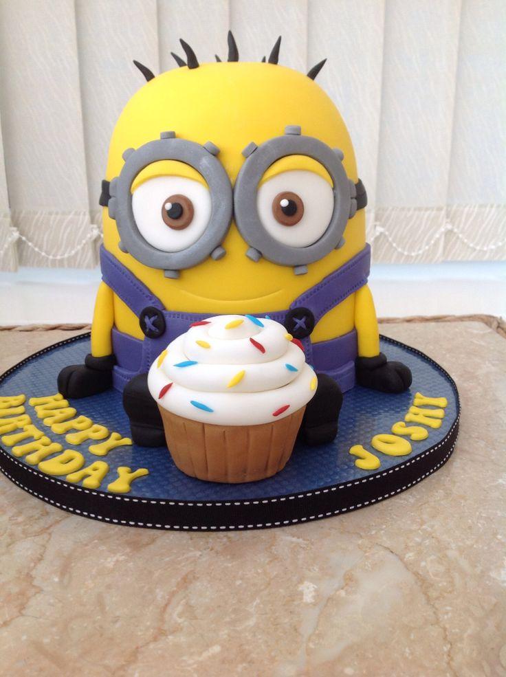 Minion Cake Design Pinterest : Minion cake Cakes Pinterest