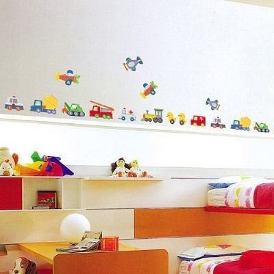 muursticker autos  Te koop bij www.kidsbiz.nl  Pinterest
