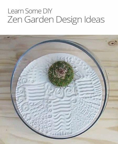 DIY Zen Garden Design Ideas