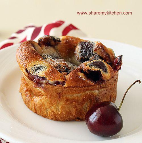 Mini cherry clafoutis with Amaretto | Pies & Tarts | Pinterest