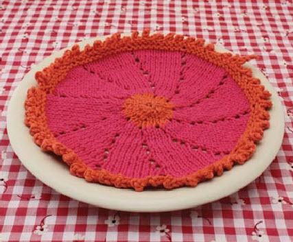 Lily? Sugar ?n Cream? Posy Dishcloth Crochet wash cloths, dish ...