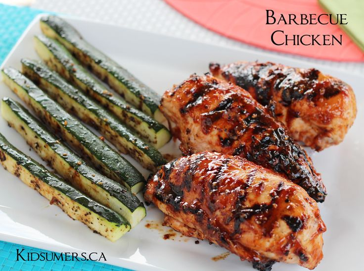 Grill Recipe: Barbecue Chicken http://kidsumers.ca/2013/06/grill ...