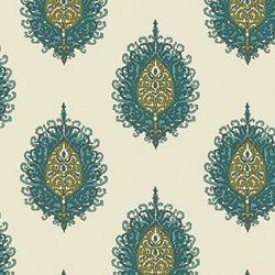 WESTMINISTER - AQUA/GREEN. Image: Calico Corners. #fabric