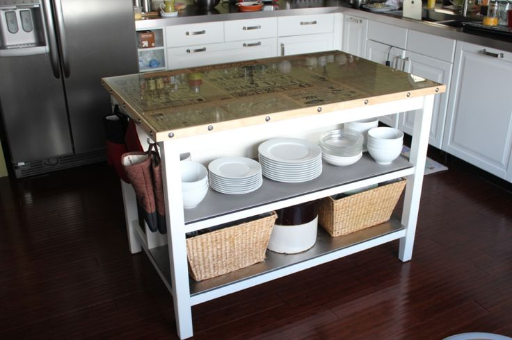 Ikea Kitchen Island Pictures ~ ikea kitchen island  kitchen  Pinterest