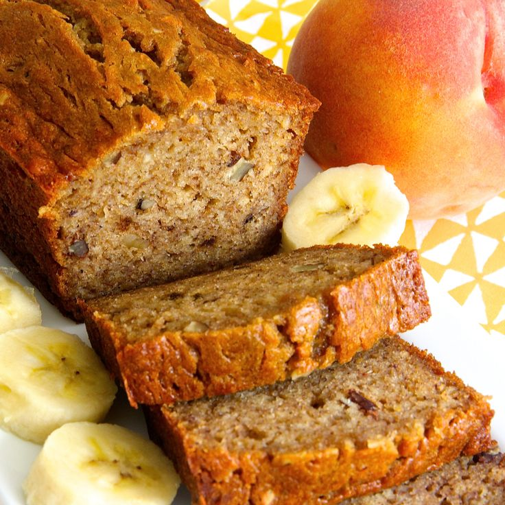 Banana Peach Bread should be put on your must-try list before peaches ...