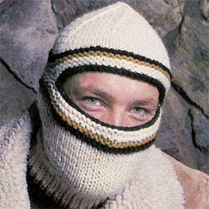 Leisure Arts - Ecru Ski Mask Knit Pattern ePattern, $2.99 (http://www