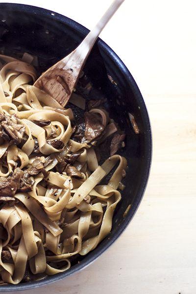 Pasta with Porcini mushrooms | Yummy in my Tummy | Pinterest
