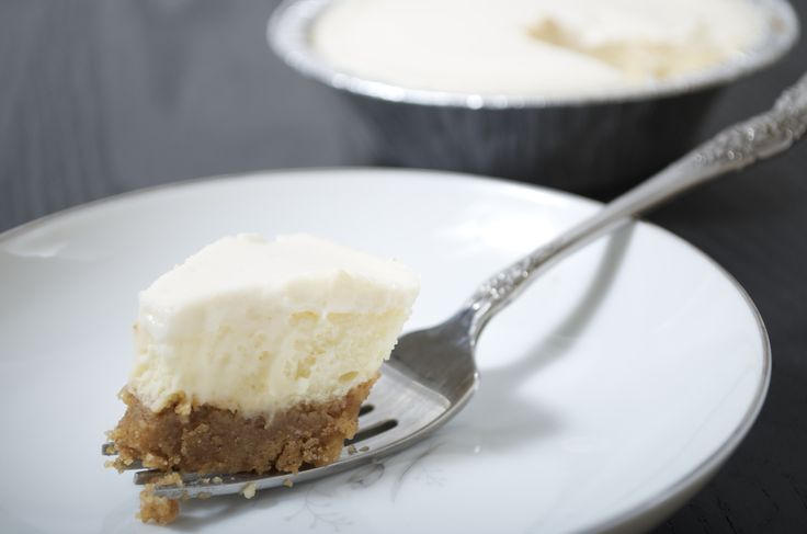 ... Cheesecake on a Graham Cracker Crust with a rich Sour Cream topping