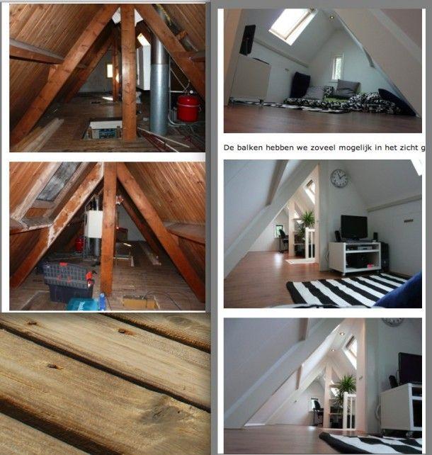 Picture idea 7 : Zolder als slaapkamer inspirerend