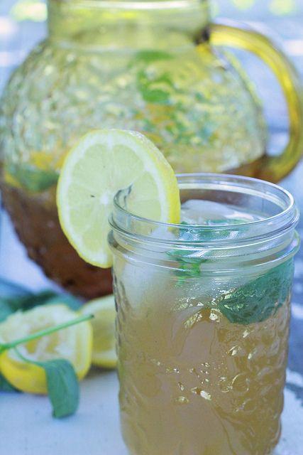 Raspberry Basil and White Tea Lemonade | Wish We Were Drinking... | P ...