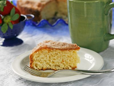 Cinnamon-Sugar Coffee Cake, A Vintage Recipe