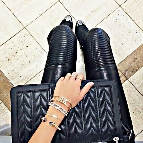 How to Chic: LEATHER PANTS