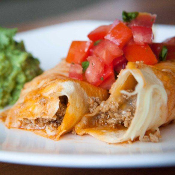 Ground turkey enchiladas | Recipes | Pinterest