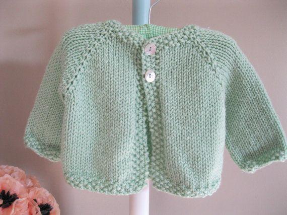 Green Handknit Sweater 51
