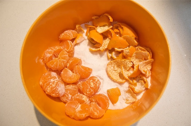 Easy Tangerine Marmalade - just sugar and tangerines - microwave ...
