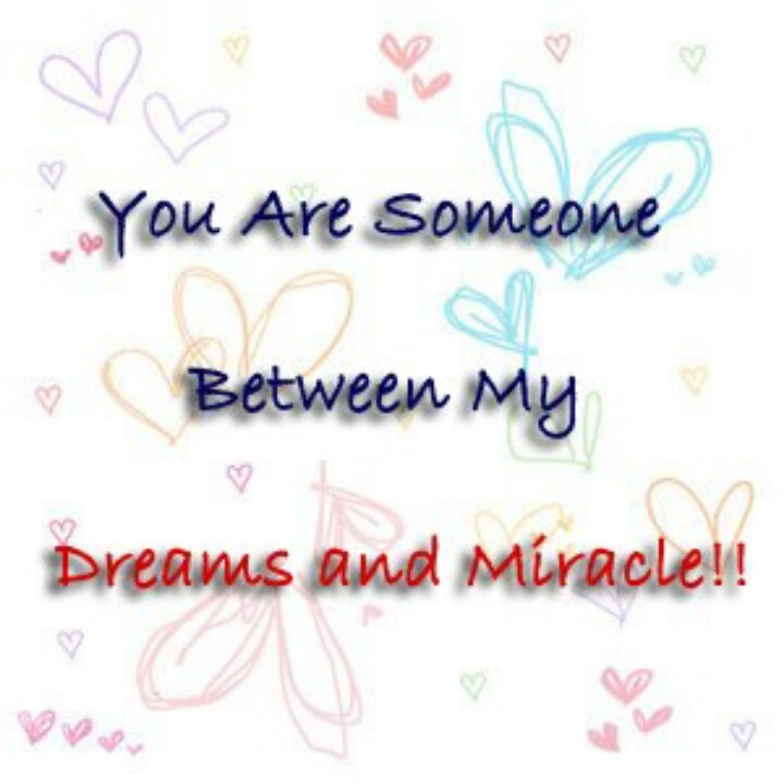 Dreams and miracle -- do happen!!