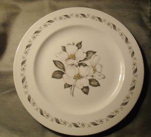 Vintage china set with gardenia pattern