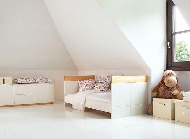 minimal kid's room