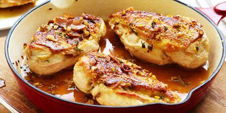 Pan Roasted Chicken with Chestnut Sauce | R U S T I C C O O K I N…