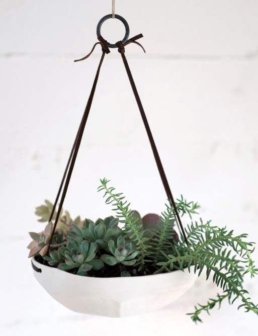 hanging flower pot | For the Home | Pinterest