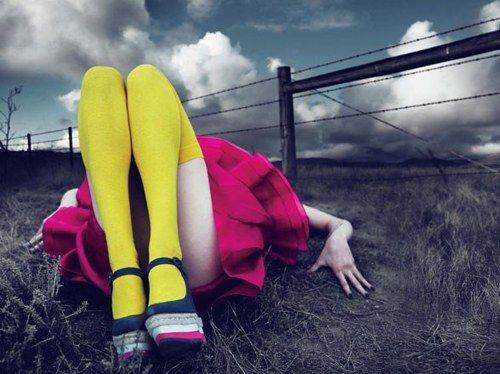 Frida Gustavsson, Caroline Brasch & Hailey Clausen by Mert & Marcus for W March 2011