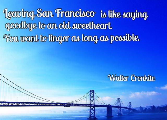 San Francisco travel quotes