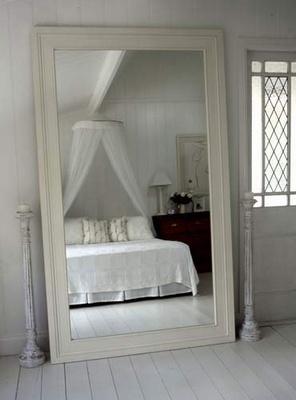 white bedroom full length mirror house pinterest