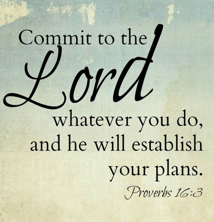 Image result for Proverbs 16:3