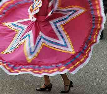 traditional dance dress for Jalisco