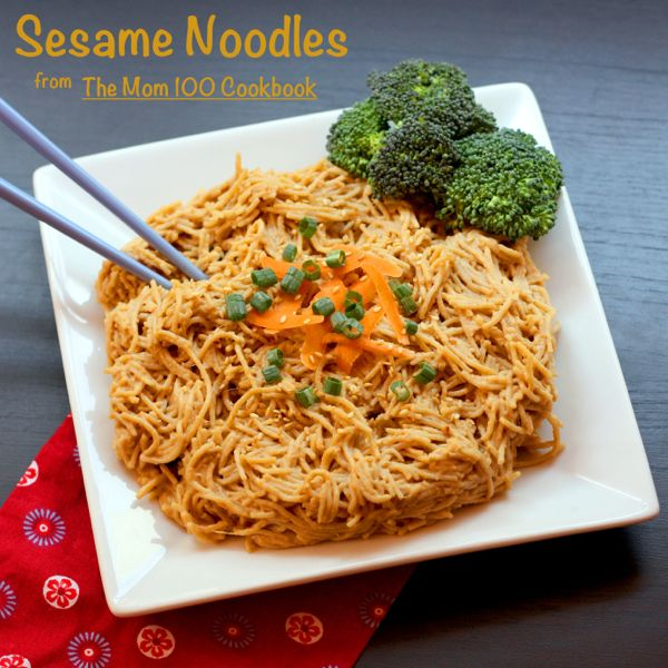 Sesame Noodles for #SundaySupper with @Katie Workman (#glutenfree ...