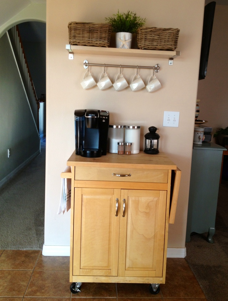 Coffee Tea Bar Home Possibilities Pinterest