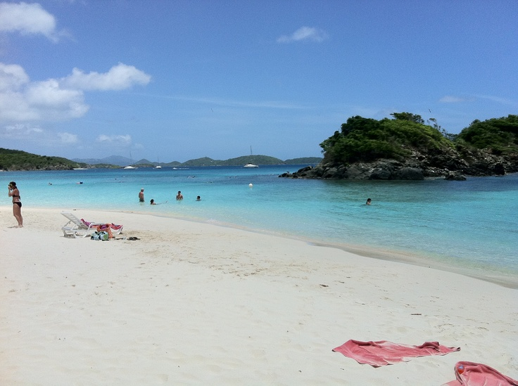 St.Thomas- so excited! August 2012