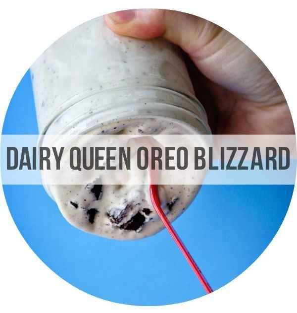 Homemade DQ Oreo Blizzard | 23 Copycat Recipes For Your Favorite Fast ...