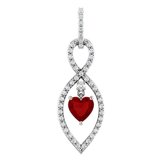 white valentine jewelry