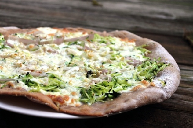 zucchini pizza | Favorite Recipes | Pinterest