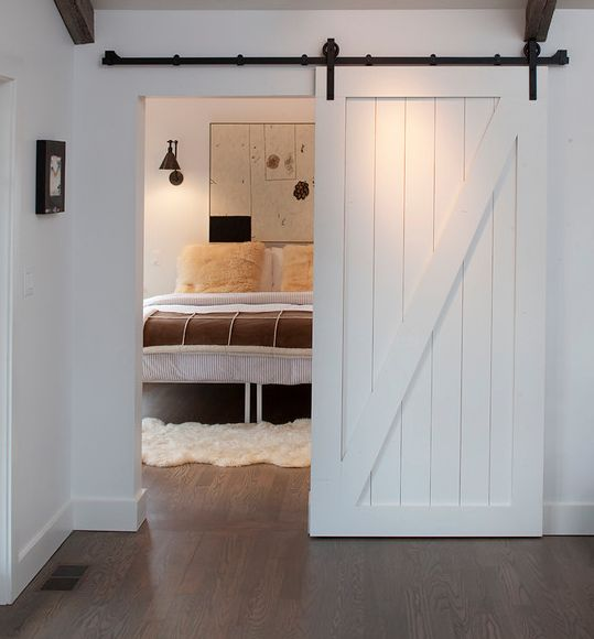 White Barn Door Home Present Or Future Pinterest