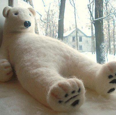 giant stuffed Polar Bear | Bears | Pinterest Giant Stuffed Bear