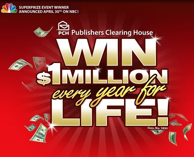 Win $1 Million every Year For Life!!!! - http://p2.biz.ly/16.html