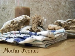 Mocha scones made with our International Delight Mocha Iced coffee ...