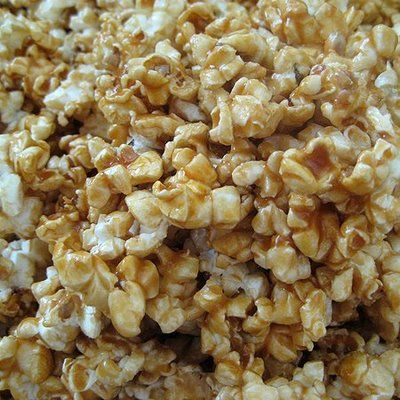 Microwave Caramel Popcorn | Mini meals | Pinterest