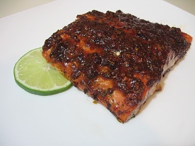 Chile Roasted Salmon