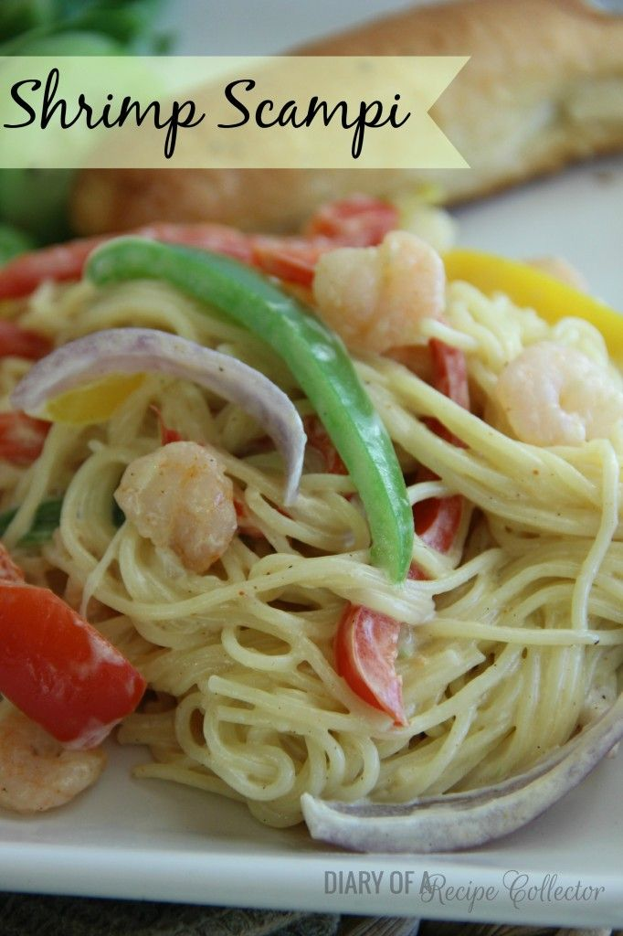 Shrimp Scampi-Here's a seafood take on Olive Garden's Chicken ...