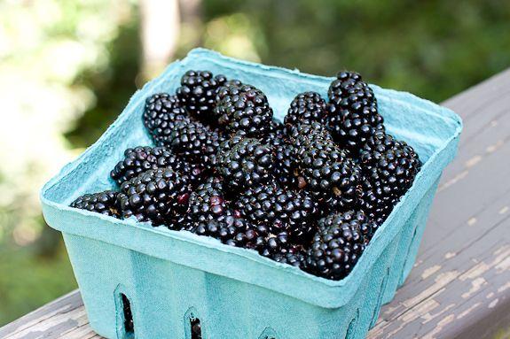 Vanilla Ice Cream with Fresh No-cook Blackberry Sauce | Recipe