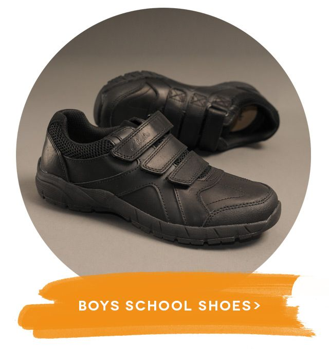 Shop boys' school shoes online